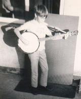 9 years old, Dallas banjo