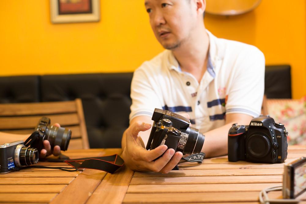 數位攝影入門-台中東勢-東華影樓-酷比攝影