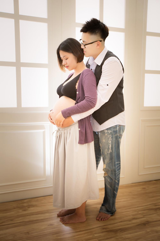 孕寫真_孕婦寫真_酷比攝影_棚拍_東華影樓_Pregnant