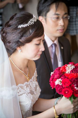 台北凱撒大飯店-迎娶午宴-婚禮紀錄-婚攝Q比-CUBY