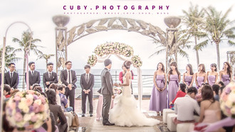 墾丁夏都-海灘婚禮-婚攝Q比-CUBY