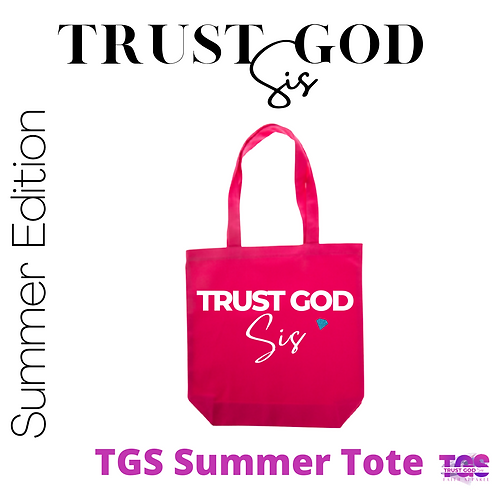 TGS Hot Pink Tote