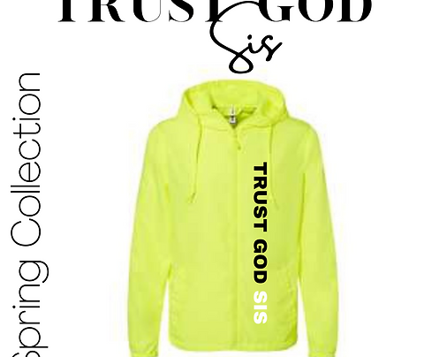 TGS Spring Bright Lightweight Windbreaker