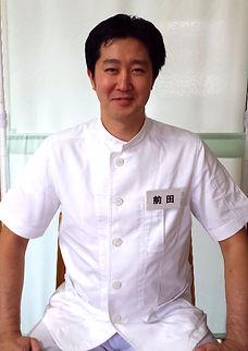 前田はりきゅう整骨院、代表者院長前田大志