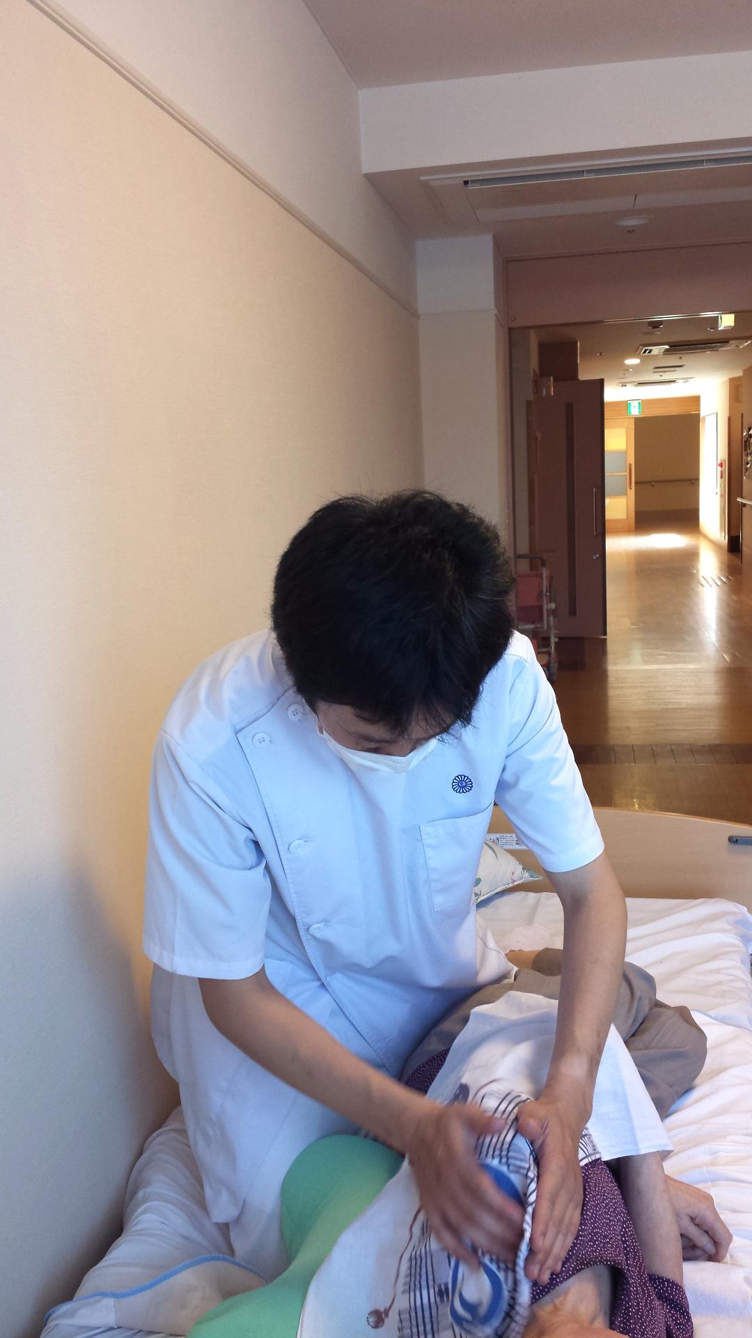 山田先生の訪問マッサージ