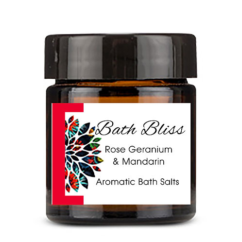 Bath Bliss Rose Geranium & Mandarin 100gm