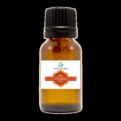 Chakra SACRAL Oil Blend 10ml