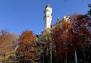 Schloss Neuschwanstein, Füssen, Komplettierung der Löschwasserversorgung