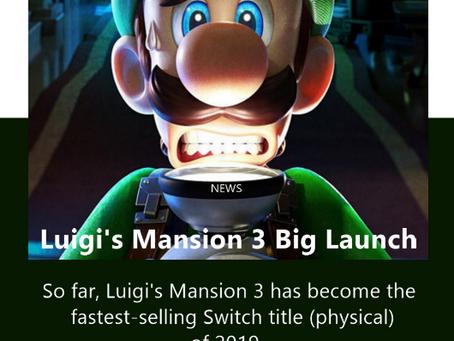 Luigi's Mansion 3 Big Launch