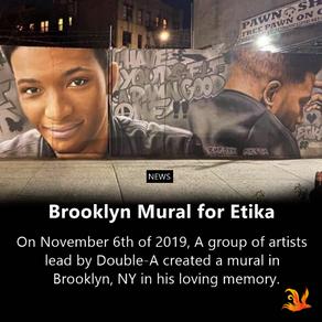 Brooklyn Mural for Etika