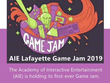 AIE Lafayette Game Jam 2019
