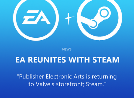 EA reunites with Steam