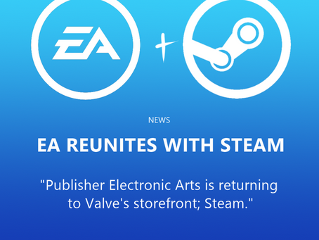 EA reunites with Steam