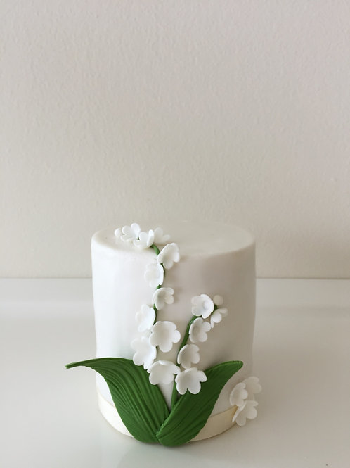 Lilly-of-the-Valley Mini Cake