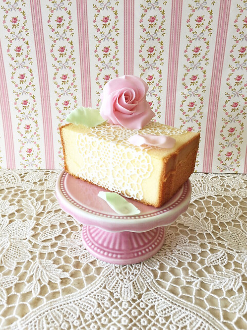 Pound Cake with Sugar Lace
