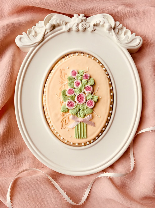 Pretty in a Frame Cookie