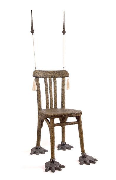 olivier,leduc,art,chaise,dechet,rebut