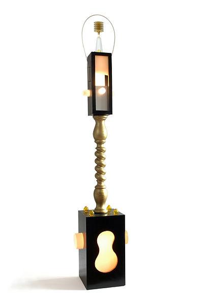 olivier,leduc,art,lampe,dechet,rebut