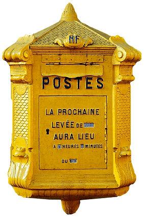 boite aux lettres poste