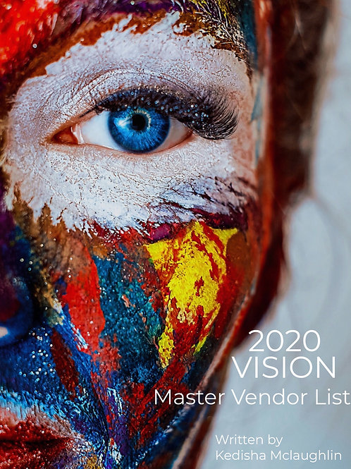 2020 Vision Vendor List
