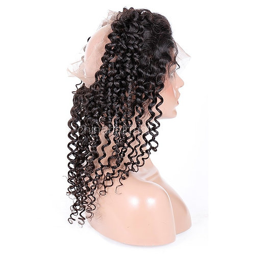 Kure 360 Deep Curly Frontal