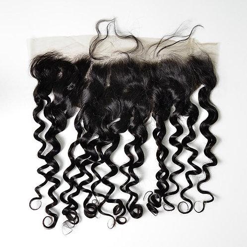KuRaw Indian HD Curly Frontal