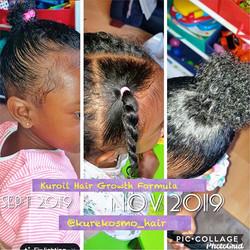 Look at that puff 😱😱😱😱😱 Kuroil Hair