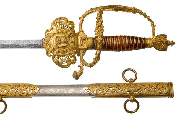 Staff & Field Officer's Sword