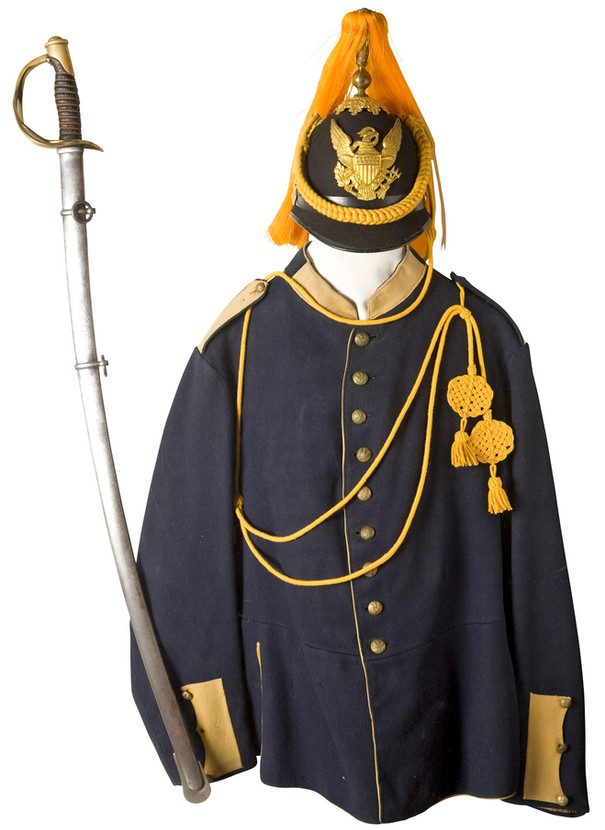 Enlisted Man's Uniform and Helmet