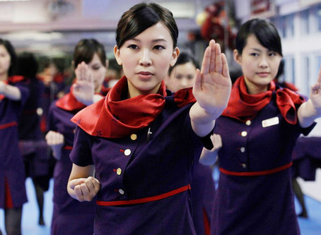 Hong Kong Flight Attendants are Taught Wing Tsun for Self-Defense