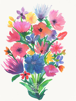 Ink Bouquet