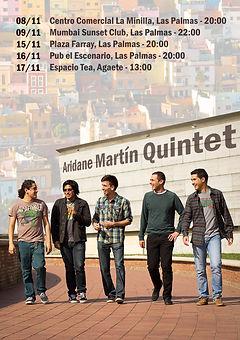 Aridane Martín Quintet Tour