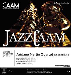 CAAM Aridane Martín Quartet