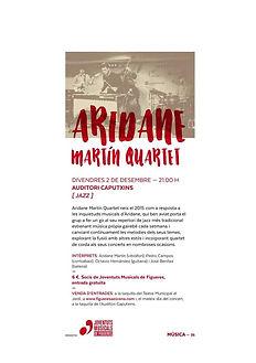 Aridane Martín Quartet - Juventudes musicales de España