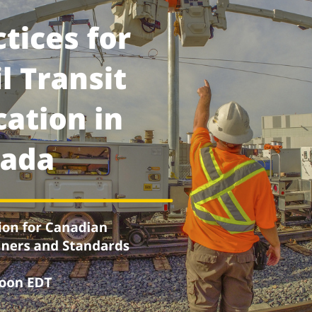 Best Practices for Light Rail Transit Electrification in Canada