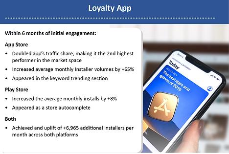 CMA Case Study Loyalty App - ConsultMyApp