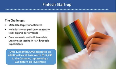 CMA Case Study FinTech App - ConsultMyApp