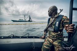 160601-SA-001-Gabonese-marines-fisheries-inspectors-board-purse-seiner-FV-Gueriden-for-insepection