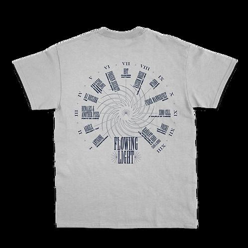 T-shirt gris Flowing light (édition limitée)