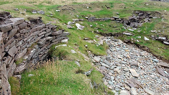 East Shore Broch Scarcement