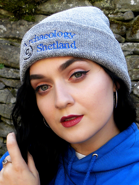 Archaeology Shetland Cuffed Beanie