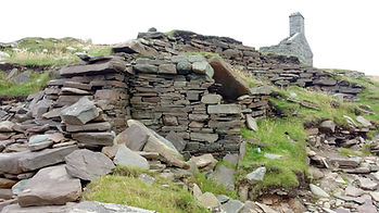 East Shore Broch Wheelhouse Radial Pier