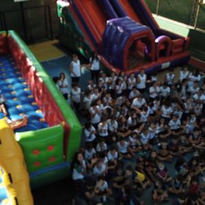 Semana da Criança: abertura com Bike Officina e muita alegria no Carangola Campestre Clube.