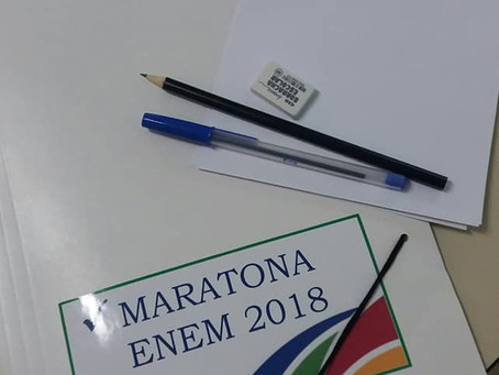 Officina do Saber realizou a Maratona ENEM como etapa final de preparação.