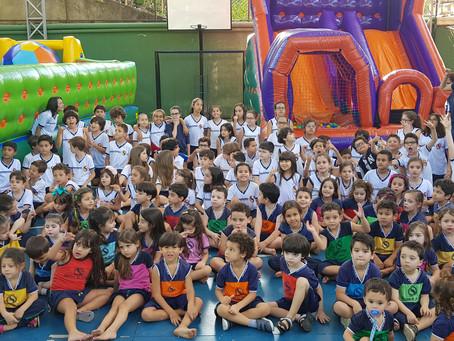 Não foi só um dia das crianças, foi uma super e inesquecível Semana das Crianças Officina do Saber.