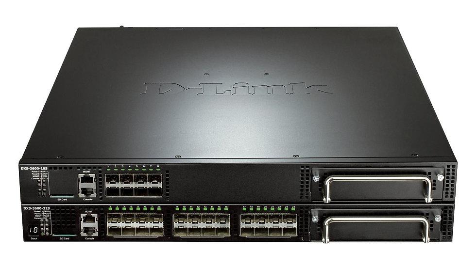 D-Link DXS-3600-32S/ESI L3 10 Gigabit Stackable Managed Switches