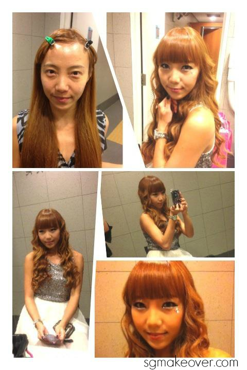 Rebecca DnD - Hyuna's makeup&hair