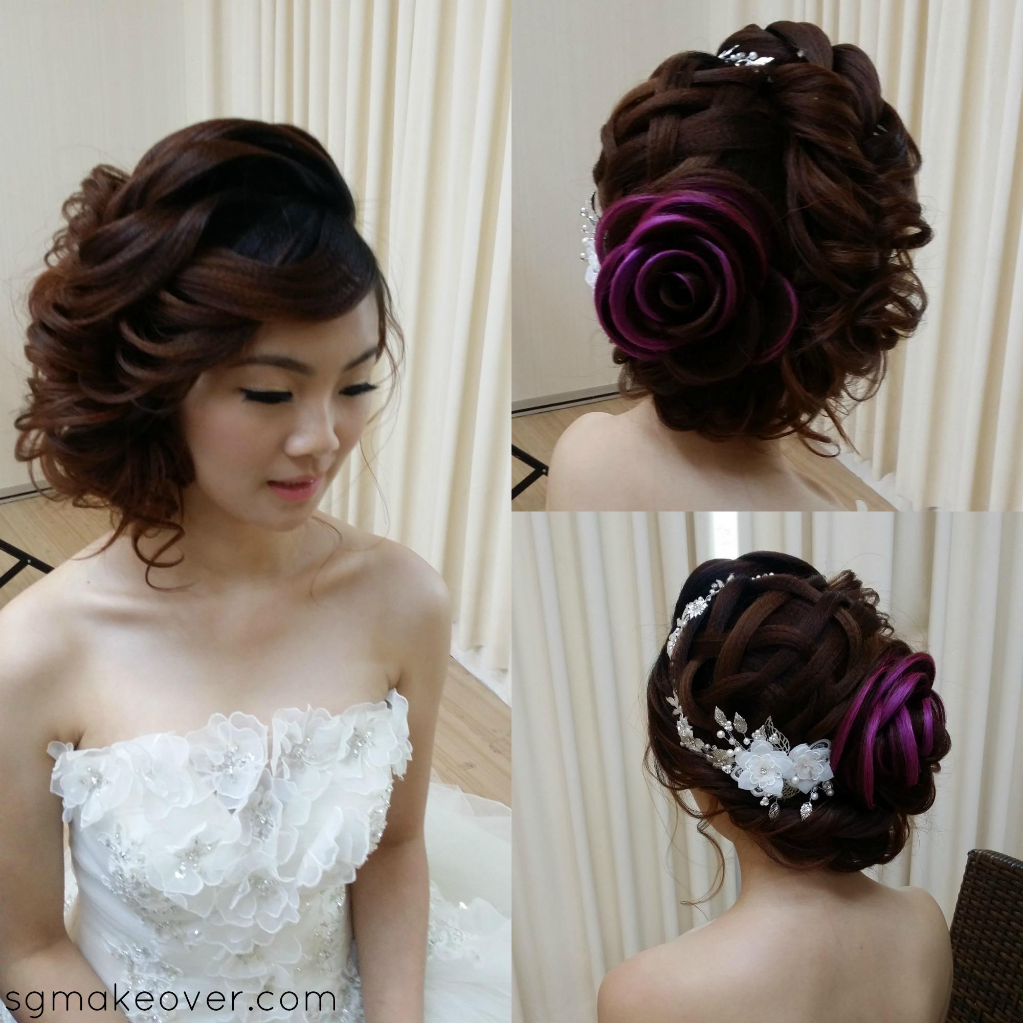 rose hairtysle