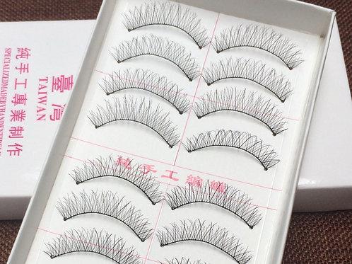 Taiwan handmade false eyelashes #219