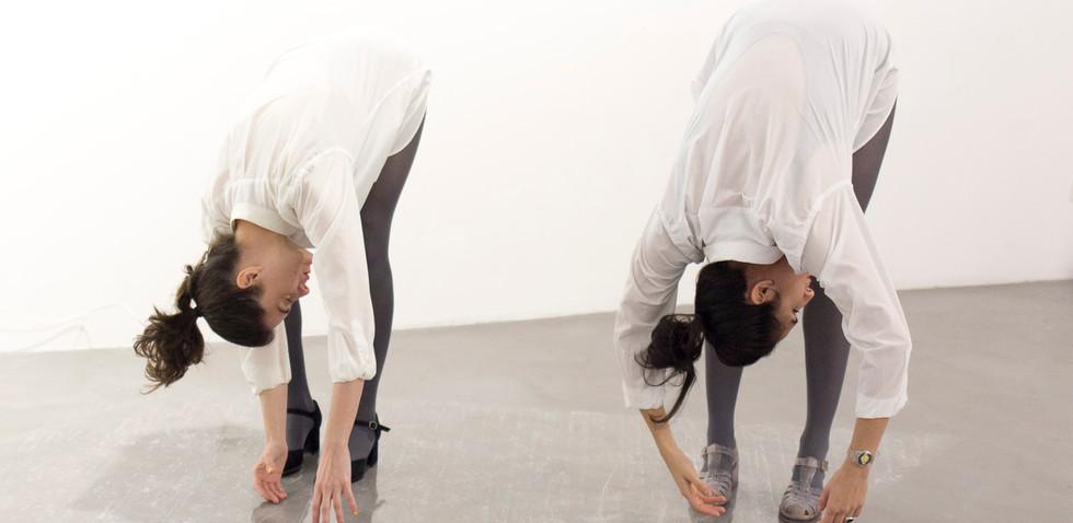 Una unidad indivisible 2017, performance Florencia Vecino y Triana Leborans